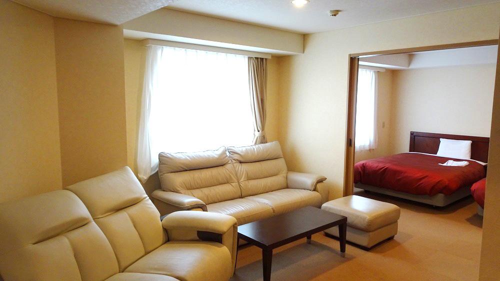 【スイートルーム】千歳ステーションホテルでスイートルーム2部屋を利用してみた。