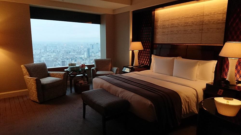 リッツカールトン東京の部屋