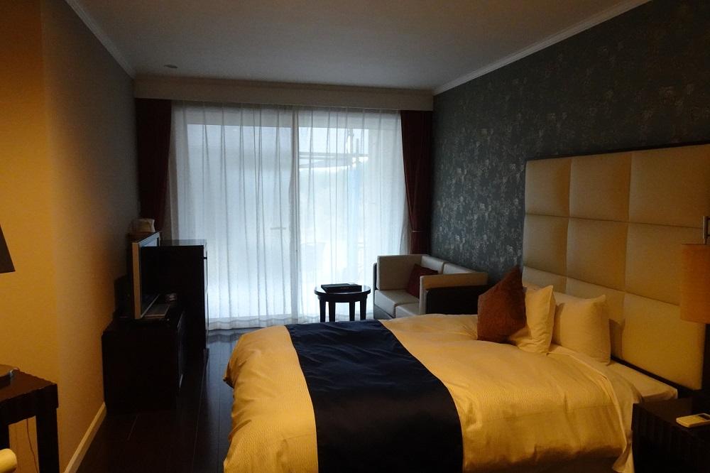 キャメルゴルフ&ホテルリゾートのスイートヴィラはベッドルームが2つあります